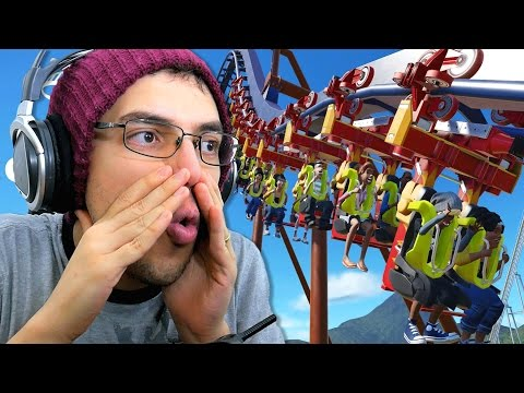 Planet Coaster - O MELHOR GAME DE SIMULAÇÃO DE PARQUES DE TODOS (Gameplay PT-BR Português)