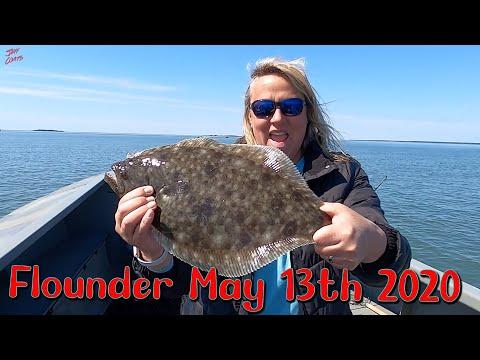 Wachapregue Virginia Flounder: First Fish Of 2020