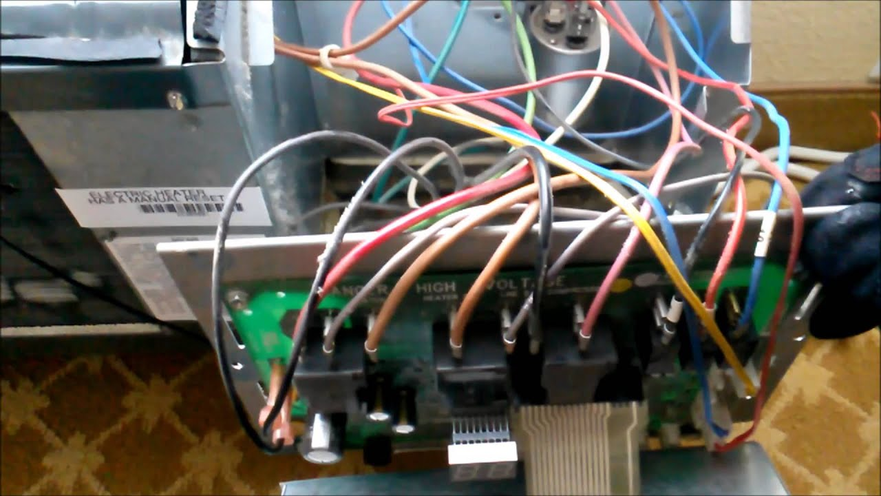 amana ptac control board wiring diagram york gas furnace control board wiring diagram ptac cord replacement - youtube #4