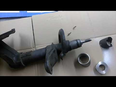 How to repair shock housing on 2000 Saab 93