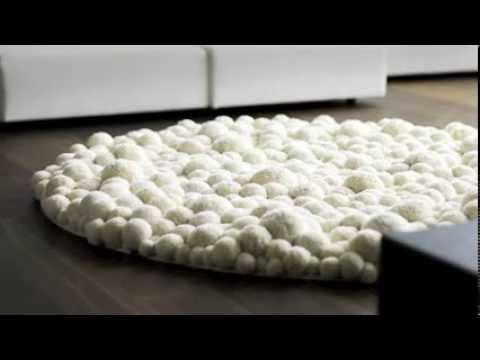 pom pom rugs craft ideas youtube. Black Bedroom Furniture Sets. Home Design Ideas