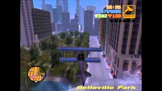 GTA 3 Aircraft Mod Flyable Helicopters and Planes