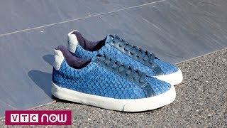 Làm giày từ da cá ở Mexico | VTC1