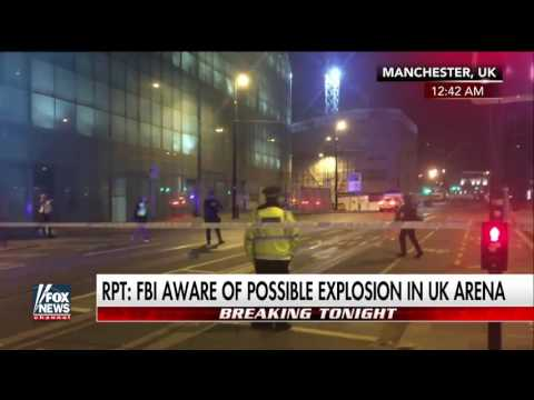 Bomb disposal unit on the scene at the UK arena