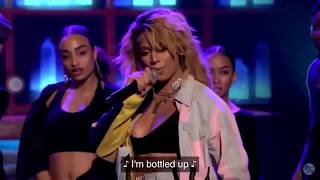 Dinah Jane - Bottled Up ft. Ty Dolla $ign & Marc E. Bassy - Live from Jimmy Fallon