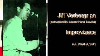 Antologie czech jazz 40 - Jiří Verbergr, Improvizace 1941.mpg