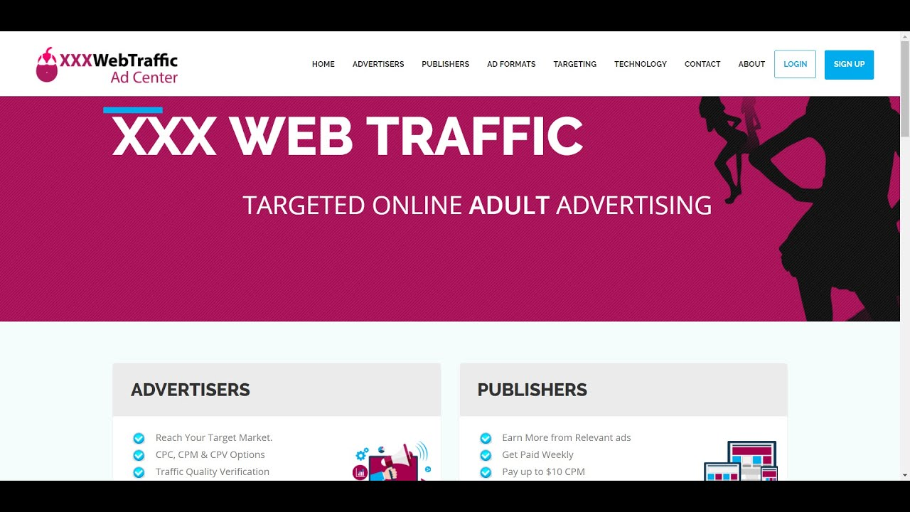 site Advertise adult web