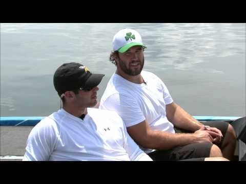 Christian Ponder & John Sullivan join Bass Utopia for a Day on Lake Minnetonka
