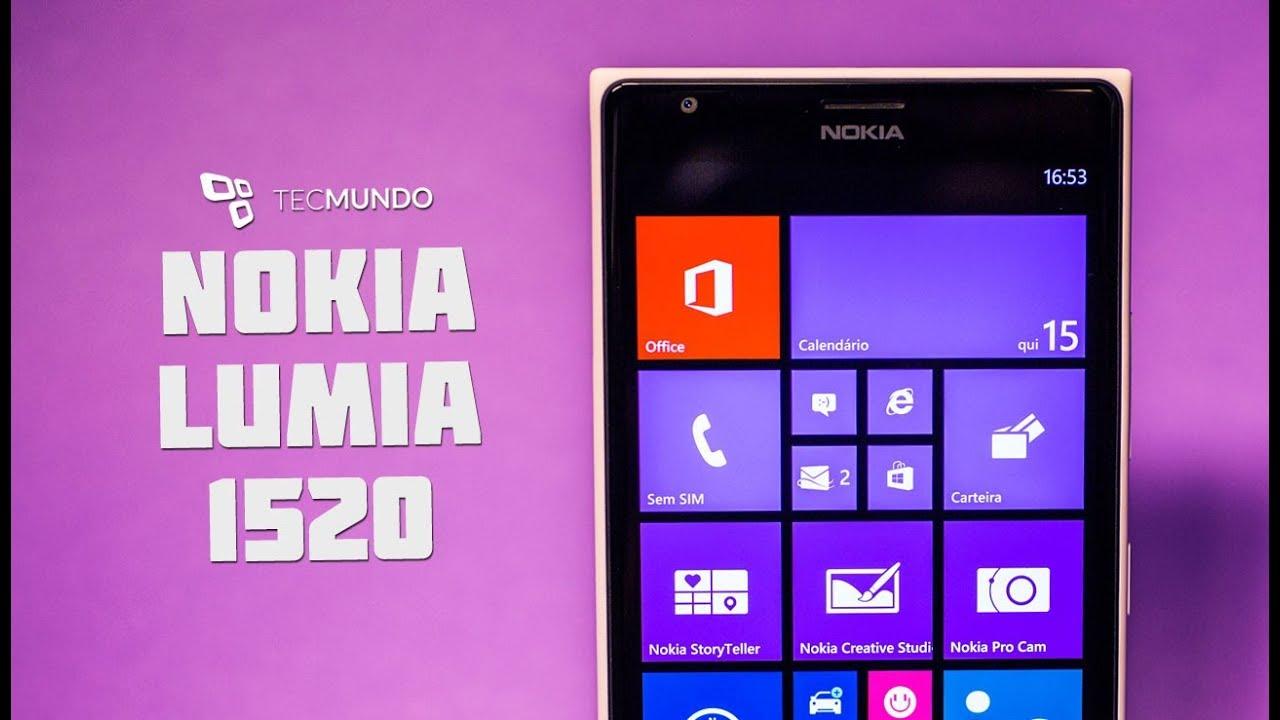 Nokia Lumia 1520 Anlise De Produto TecMundo YouTube