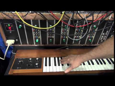 [AES] Moog Recreates Keith Emerson's Modular System