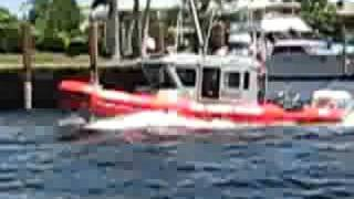 U.S. Coast Guard Patrol Hillsboro Beach Florida