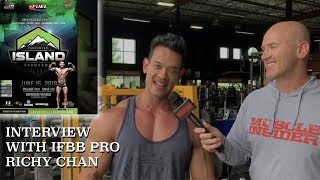 Interview With IFBB Pro Richy Chan