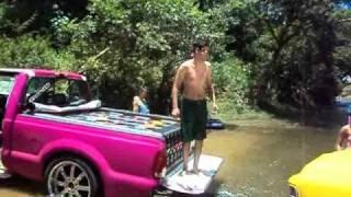 Gcinco Sound Car (Unaí - MG) no Rio Após a Festa em Brasilândia-MG 2011 Part.02