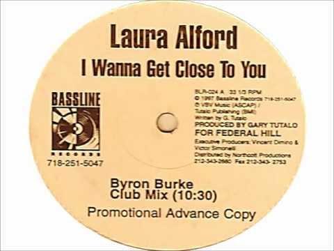 Laura Alford - I Wanna Get Close To You (Byron Burke Club Mix) 1997 BASSLINE RECORDS