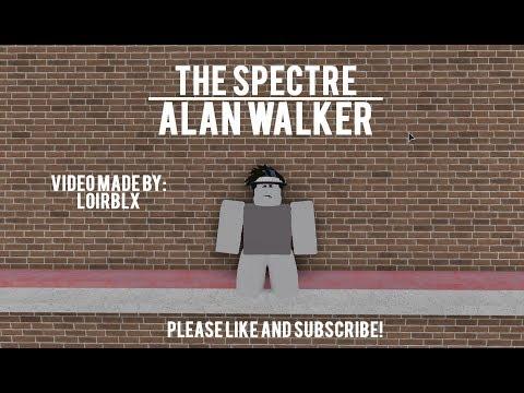 alan walker the spectre roblox id