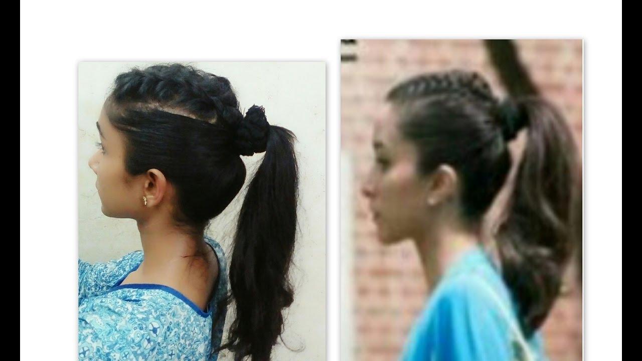Recreating Shraddha Kapoors Hairstyle From Half Girlfriend Youtube