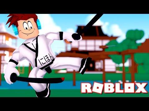 Roblox - TREINAMENTO NINJA !!