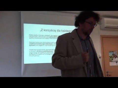 dr Sebastian Szymański, Druga zasada sprawiedliwości Rawlsa.