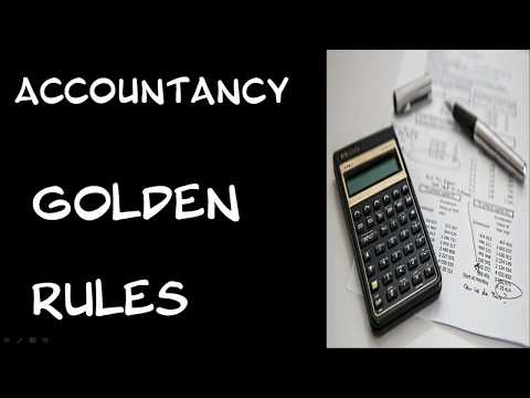 What is ACCOUNTANCY? DEBIT - CREDIT and GOLDEN RULES OF ACCOUNTING.