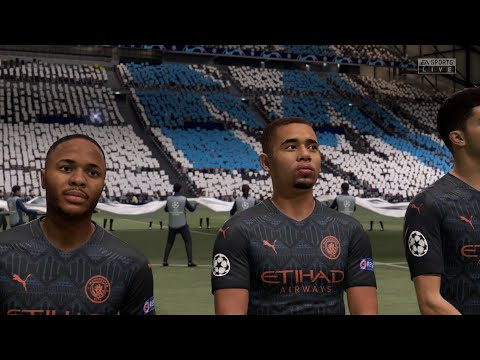 FIFA 21 | Marseille Vs Manchester City - UEFA Champions League (Full 4K Gameplay)