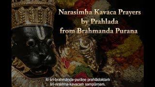 Narasimha Kavacha Stotra | Abhisheka
