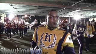 edna karr high marching band under the bridge 2017 alla mardi gras parade