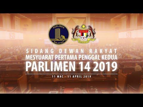 #LIVE Parlimen 25 Mac 2019 | Sesi Petang