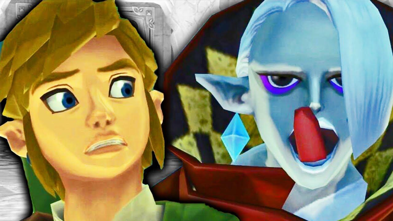 Skyward Sword is the CRAZIEST Zelda game...