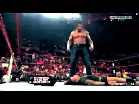 Randy Orton Destroys The Evolution - Part 2/2