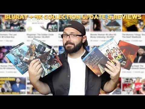 Huge Bluray & 4K Collection Update & Reviews 09/25/17 (50+ Titles) | BLURAY DAN