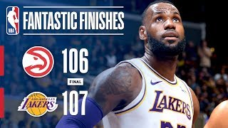 Lakers And Hawks Goes Down To The Wire | November 11, 2018