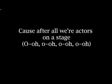 All Time Low- Actors lyrics