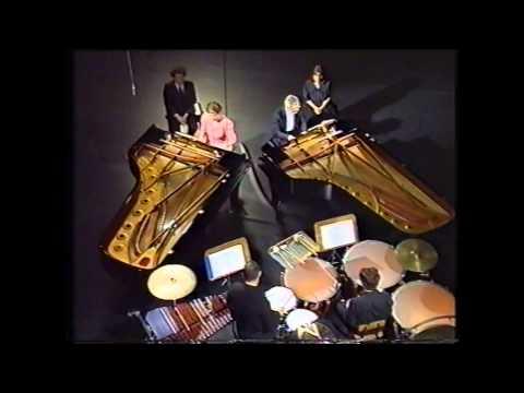 Bartók: Sonata for two Pianos and Percussion - Jenő Jandó, Ilona Prunyi, János Antal, Zoltán Varga