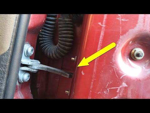 Door Swing Stop repair (Xsara Picasso)