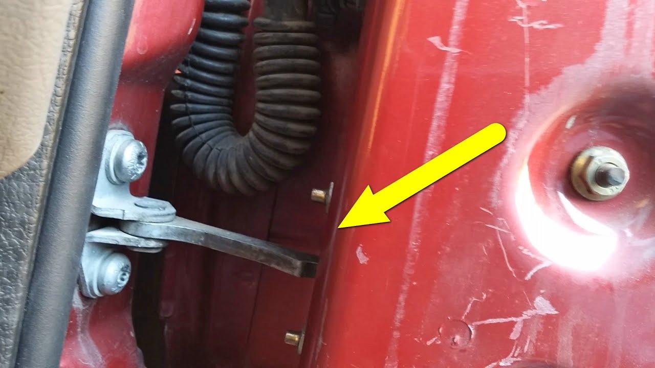 Door Swing Stop Repair Xsara Picasso Youtube