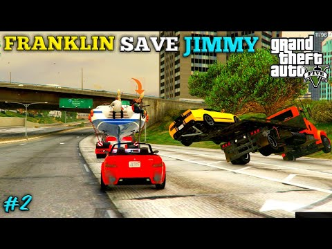 JIMMY AND MICHAEL'S YATCH ARE IN DANGER! GTA V episode #2