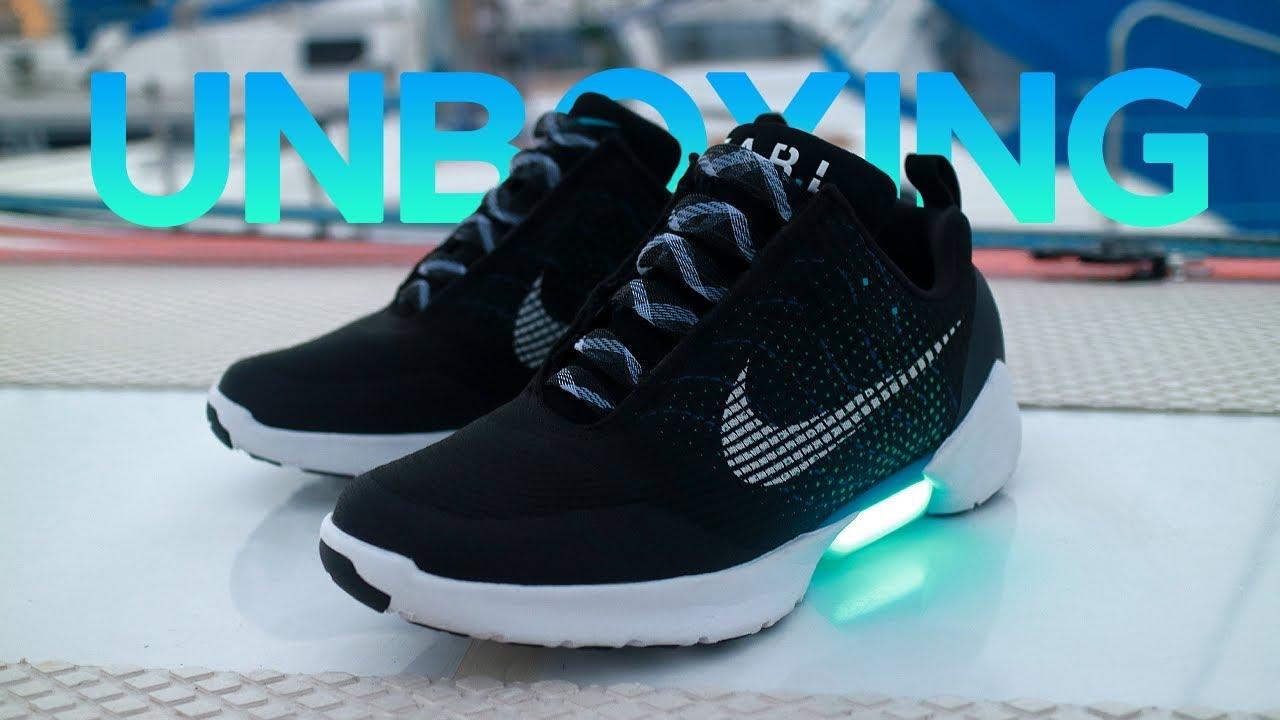 03bcdd21 Unboxing и обзор кроссовок Nike HyperAdapt 1.0 - YouTube