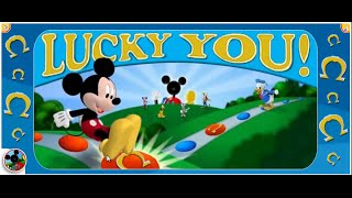 Mickey Mouse Clubhouse Games - Lucky You - A Game For Two - Disney Junior Games