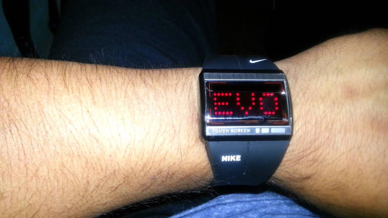 mejor autentico cf22f cf781 Reloj touch nike