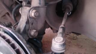 замена рулевого наконечника Toyota Vista/Camry