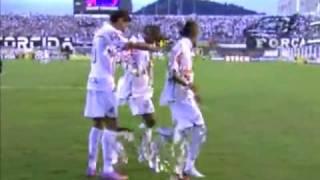 Santos 3 X 0 São Paulo - Paulistão 2010 - 18/04/10 - Melhores Momentos