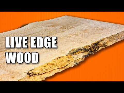 Working with Live Edge Wood / Live Edge Slabs: Money Saving Hacks for Woodworking Part 6