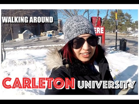 Carleton University Tour | Ottawa Tour VLOG