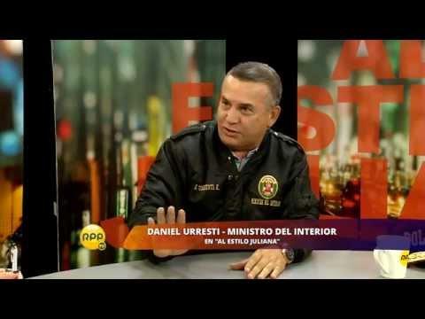 Daniel Urresti responde enérgicamente a sus críticos en Al Estilo Juliana