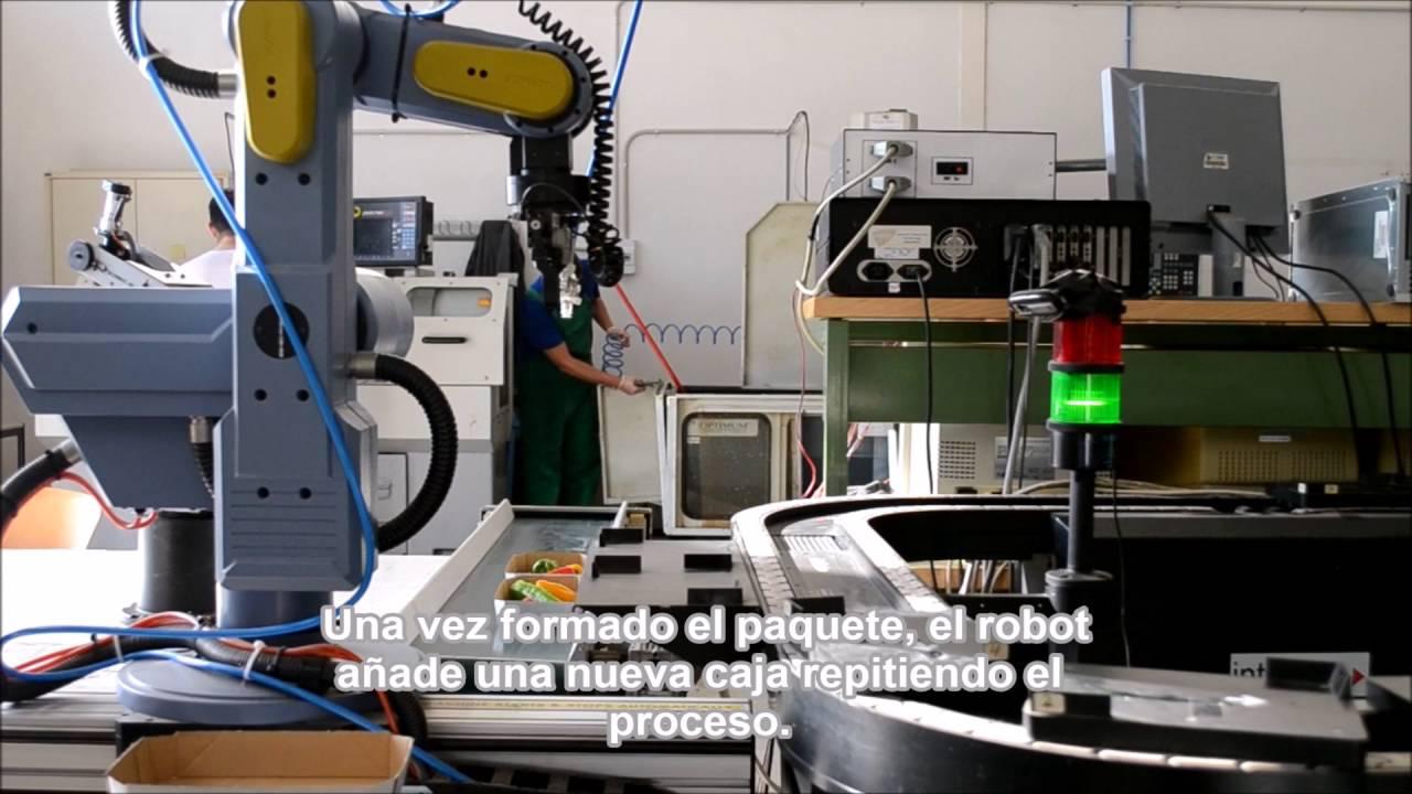 Trabajo Fin de Grado- Sistema robotizado de clasificación y ...