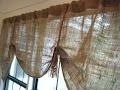 Деревенский стиль (стиль кантри) на даче Мешковина в дизайне интерьера