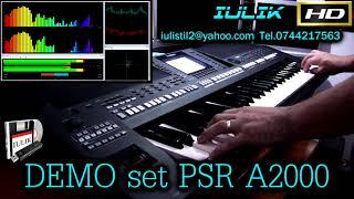 Demo set YAMAHA PSR A2000 vechi 2013 v.1.01 unofficial