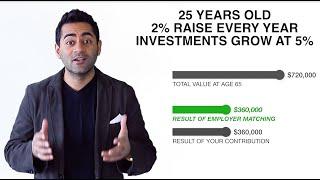 employer matching retirement contributions