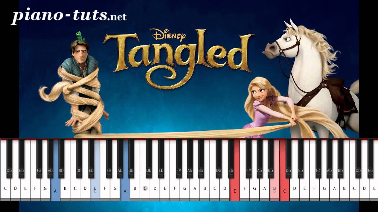 Tangled i see the light piano tutorial youtube hexwebz Image collections