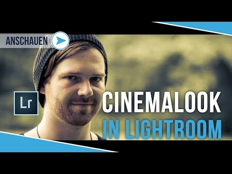 KINOLOOK - CINEMA LOOK IN LIGHTROOM | TUTORIAL DEUTSCH | #38
